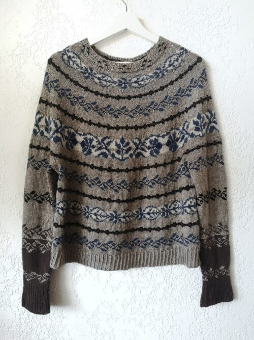 moan sweater shown without model